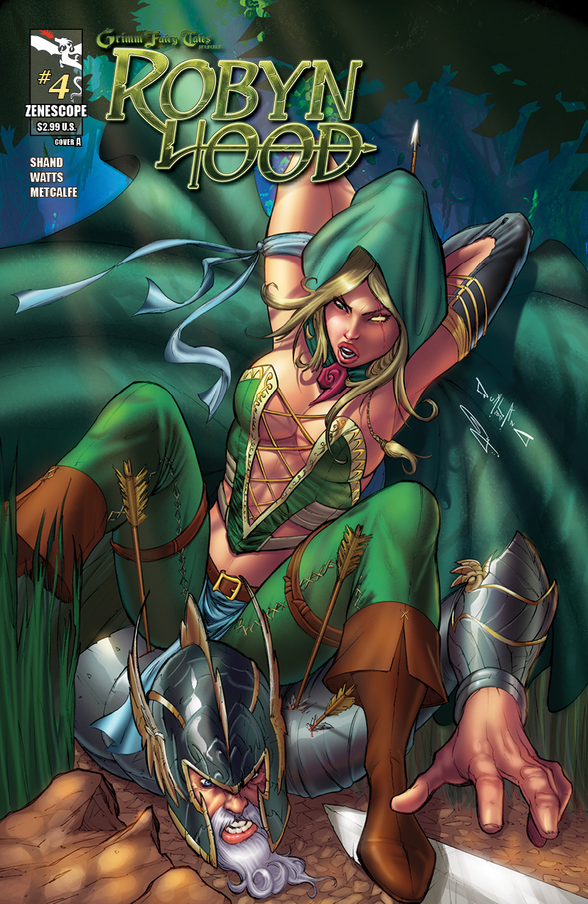 Grimm Fairy Tales Presents Robyn Hood #4