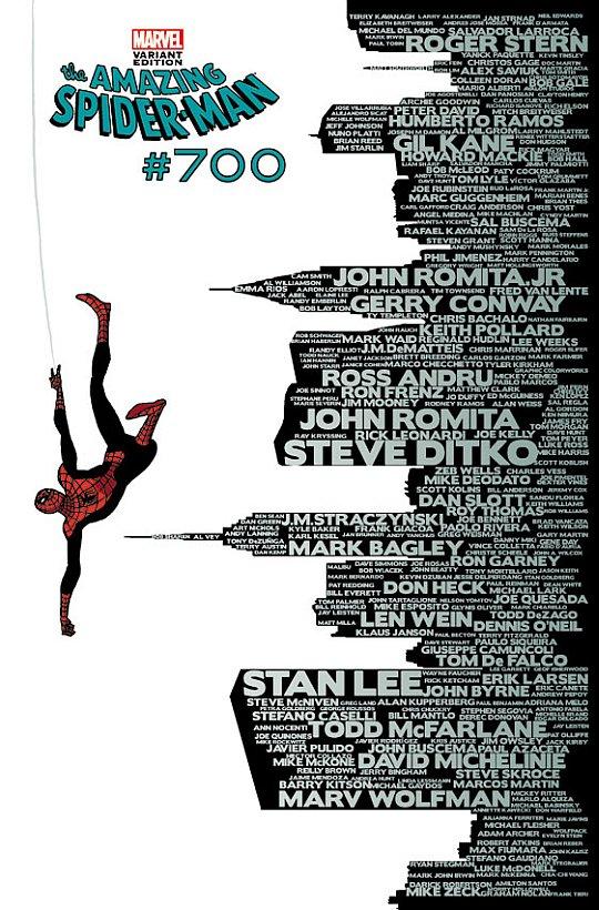 Amazing Spider-Man #700 Variant Cover