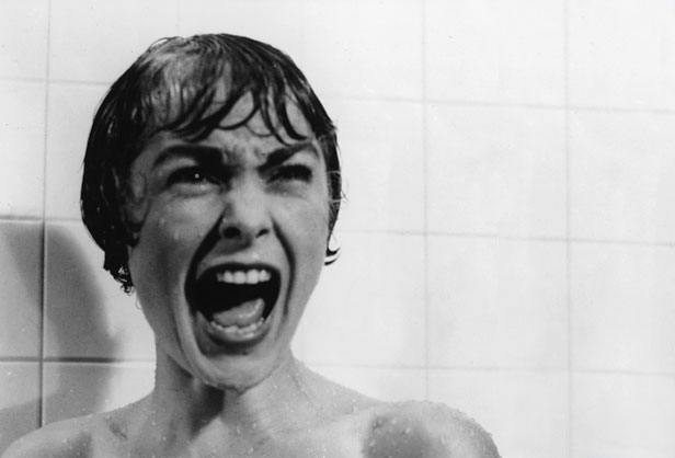 Janet Leigh shower scene from Psycho
