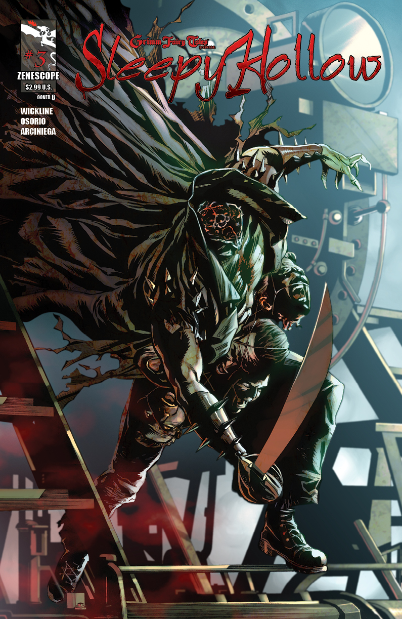 Grimm Fairy Tales Presents Sleepy Hollow #3