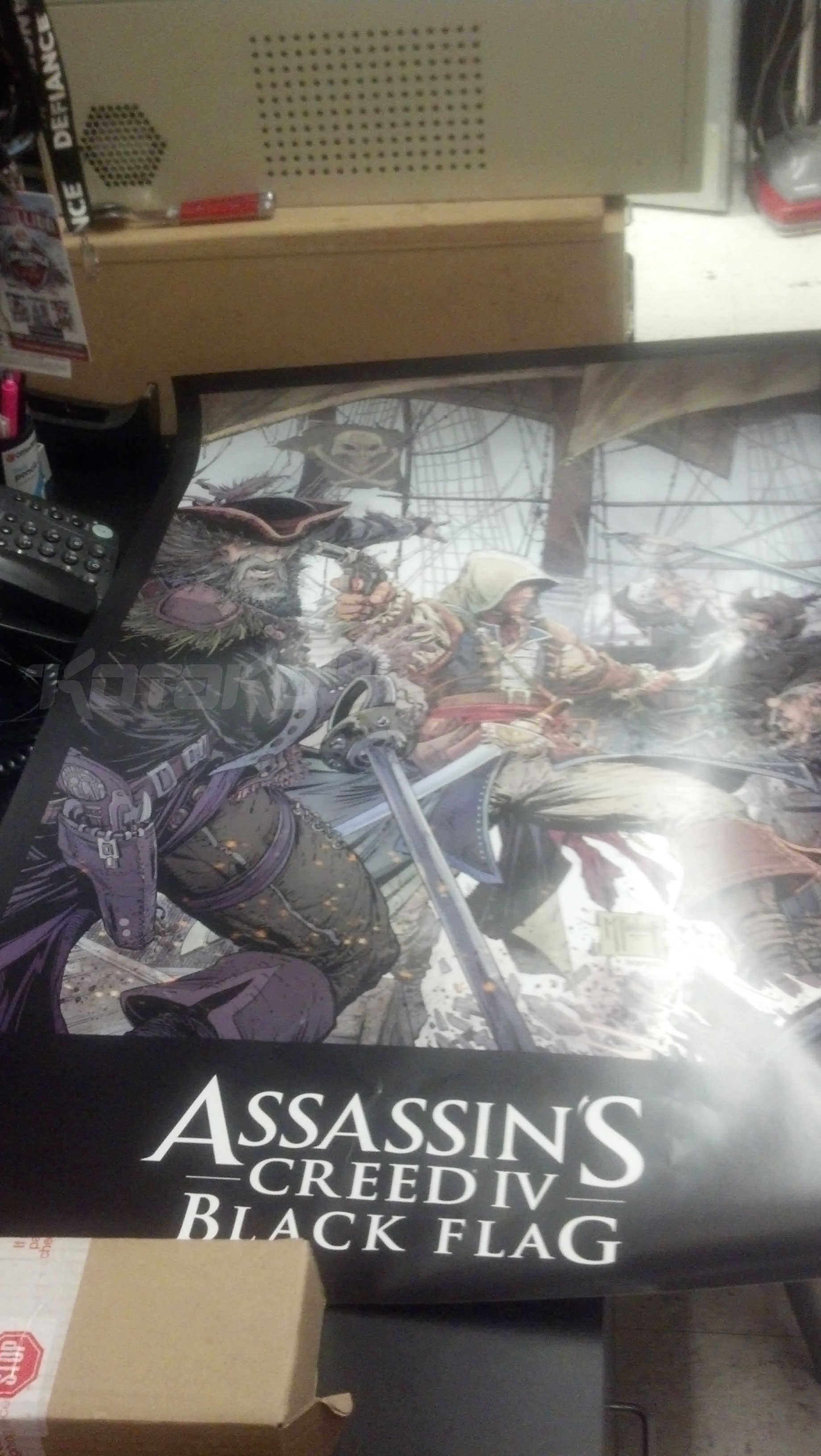 Poster for Assassin's Creed IV Black Flag