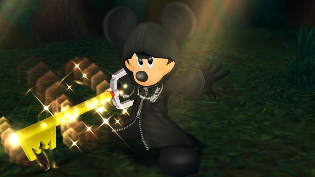 King Mickey from Kingdom Hearts 1.5 HD Remix