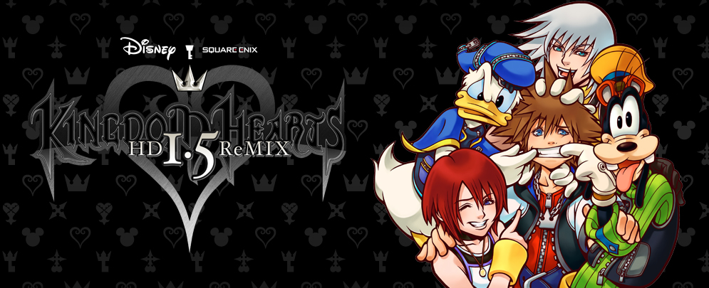 Logo for Kingdom Hearts 1.5 HD Remix