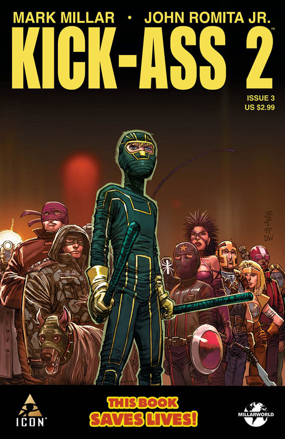 Cover for Kick-Ass 2 issue number 3