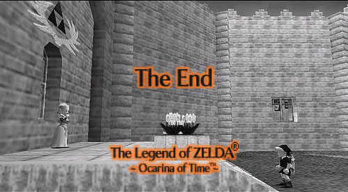Ending of The legend of Zelda: Ocarina of Time