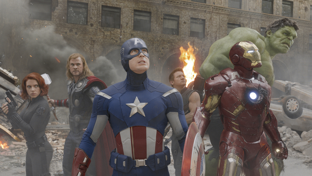 The Avengers team up