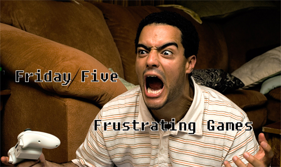 frustrated guy playing games
