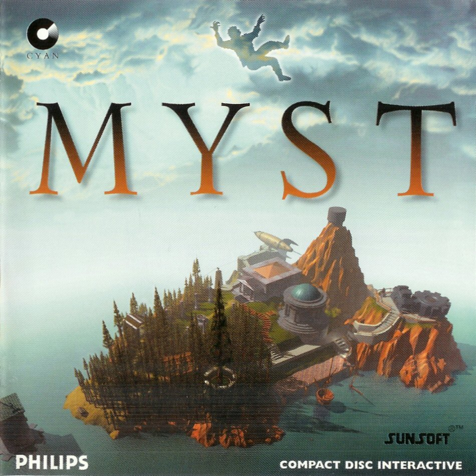 Box art for Myst on PC