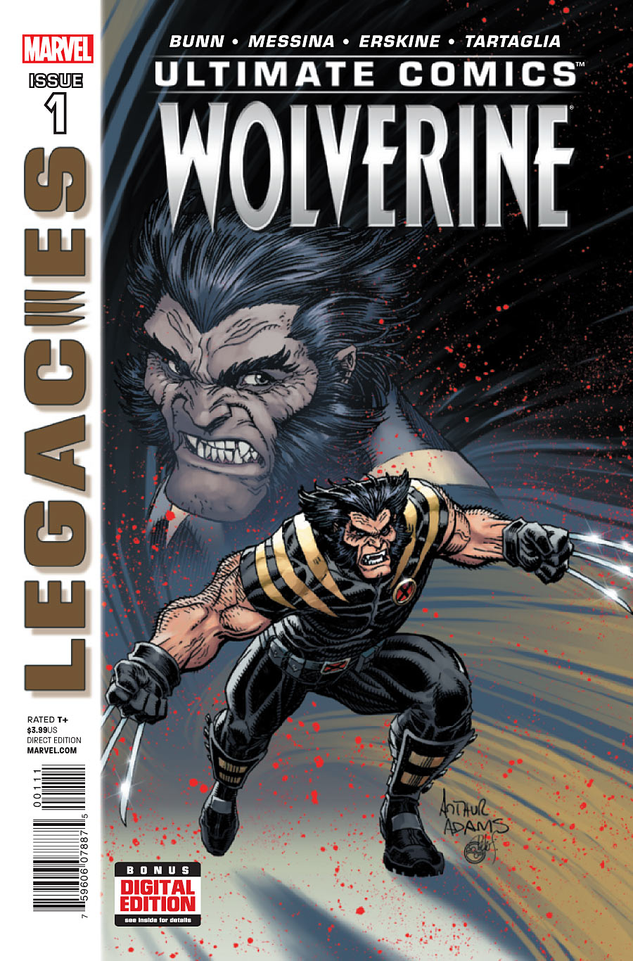 Ultimate Comics Wolverine #1 cover by Arthur Adams