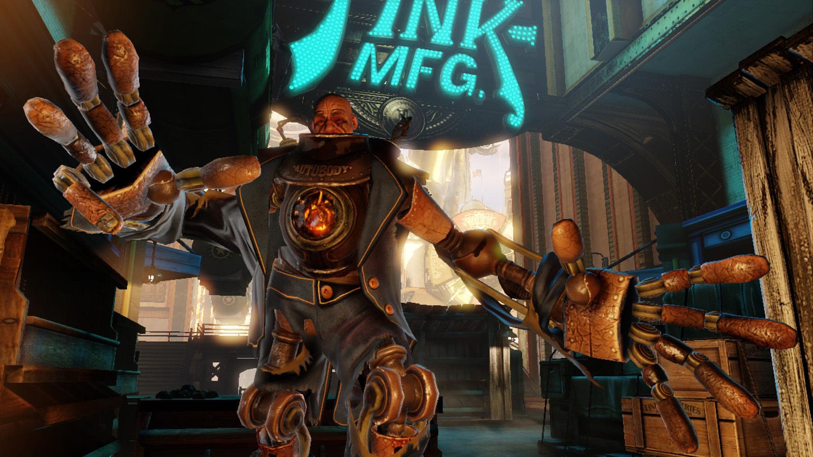 Handyman from BioShock Infinite