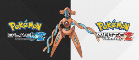 Today is the day to get your free Level 100 Deoxys in Pokémon Black/White 2!