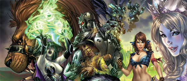 The Wonderful World of Oz Is Getting A Zenescope Makeover.