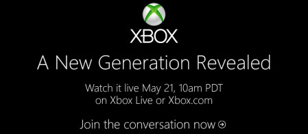 X-Box A New Generation Revealed Live Blog