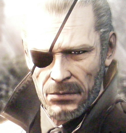 Big Boss from Metal Gear Solid 4