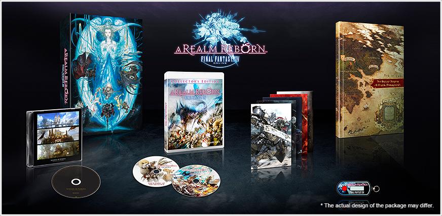 Final Fantasy XIV: A Realm Reborn Collectors Edition