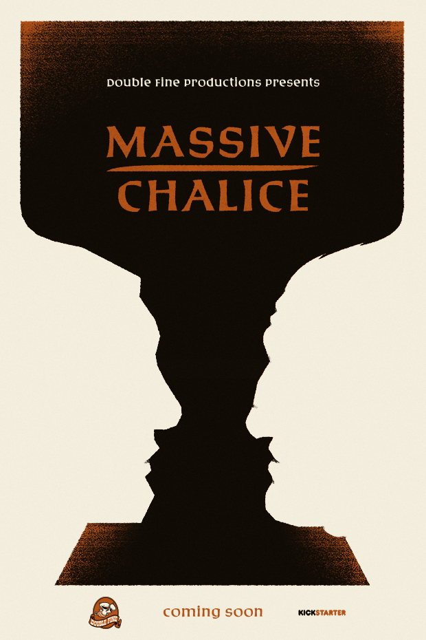 Poster for Massive Chalice by Double Fine.