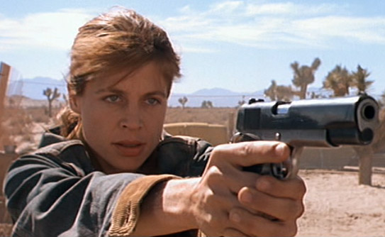 Sarah Connor from Terminator 2: Judgement Day