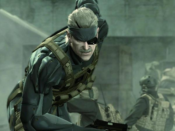 Solid Snake from Metal Gear Solid 4
