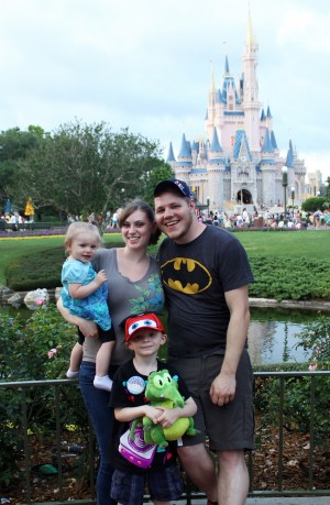 Vogel Family at Magic Kingdom