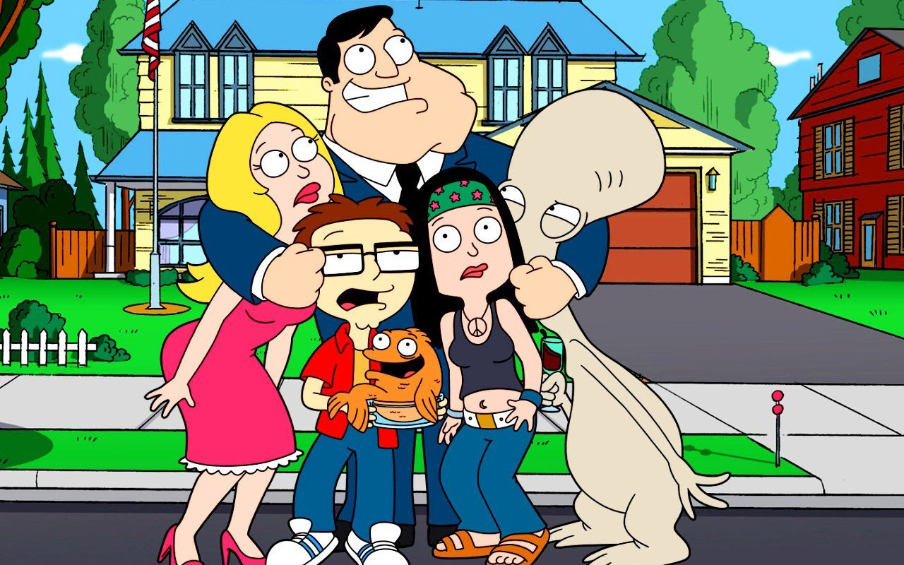 The Smith Family from American Dad