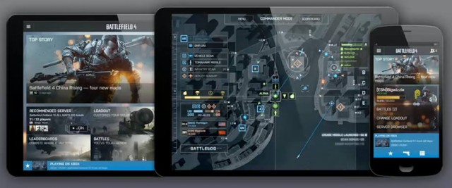 Tablet Display for Battlefield 4