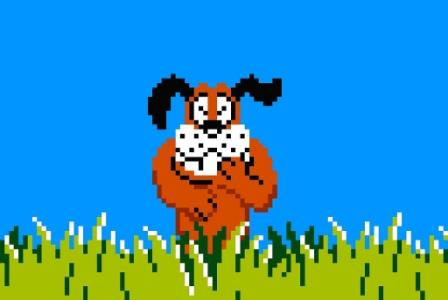 the dog from duck hunt