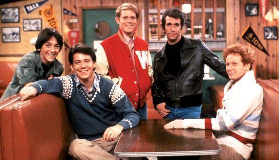 cast of Happy Days