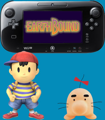 EARTHBOUND has arrived on Wii U!!! | One-Quest com