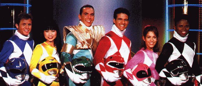 Original Cast of Mighty Morphin Power Rangers