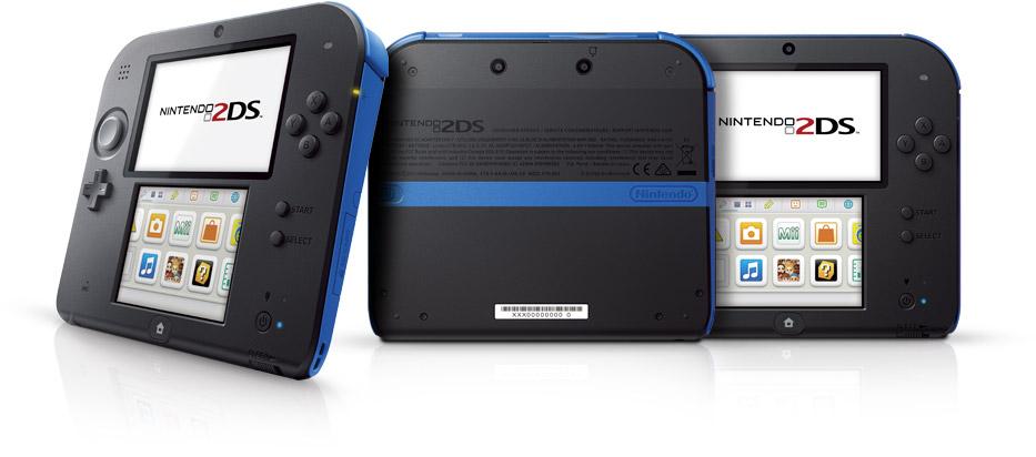 Blue Nintendo 2DS