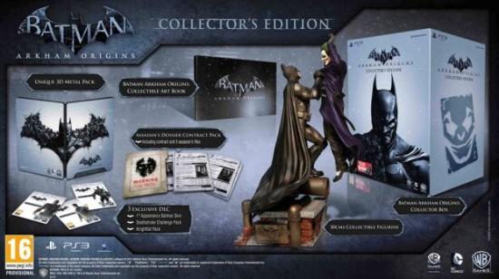 Batman Arkham Origins UK Collectors Edition Revealed