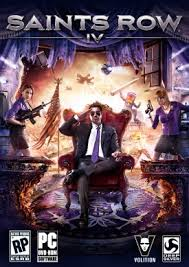 saints row IV box