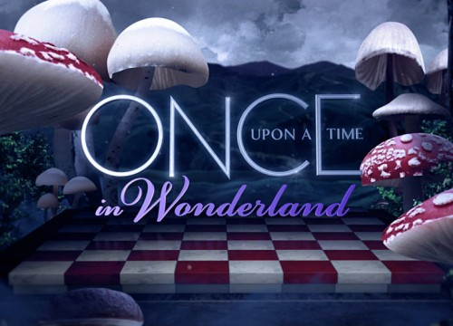 Once Upon a Time in Wonderland logo