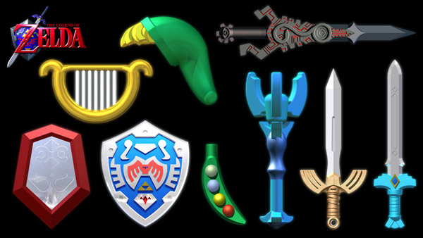 Legend of Zelda Items
