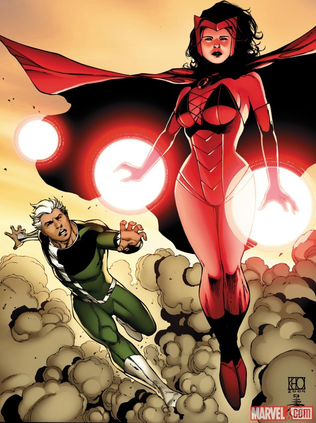 Quicksilver and Scarlet Witch casting confirmed!