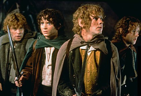 The Hobbits of Lord of the Rings