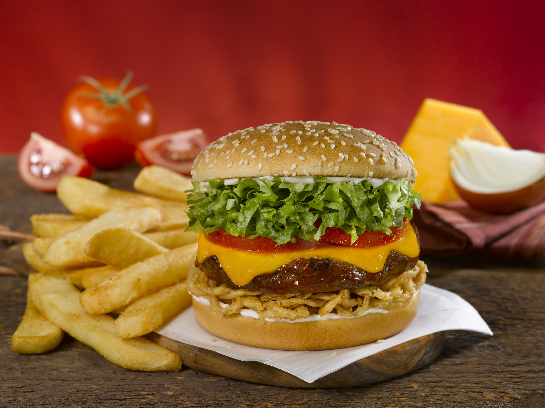 Whiskey River BBQ Burger