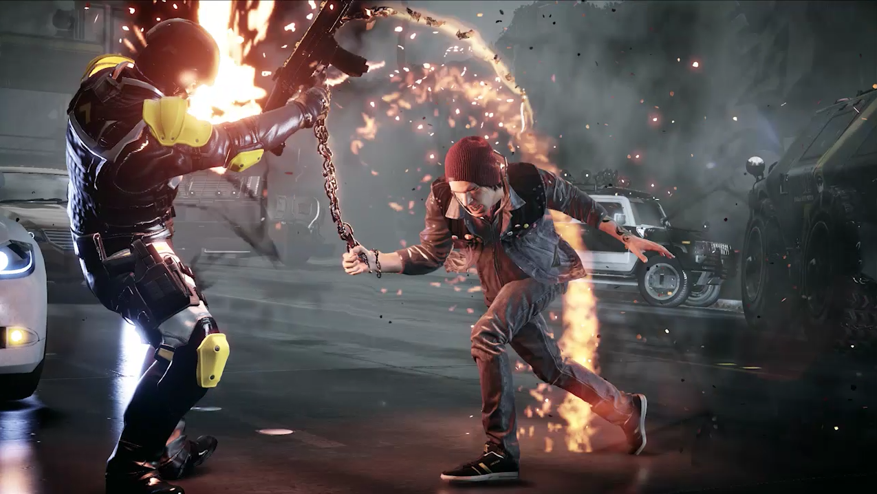 Infamous Second Son Smoke