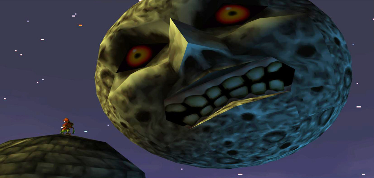 Majora's Mask - Moon