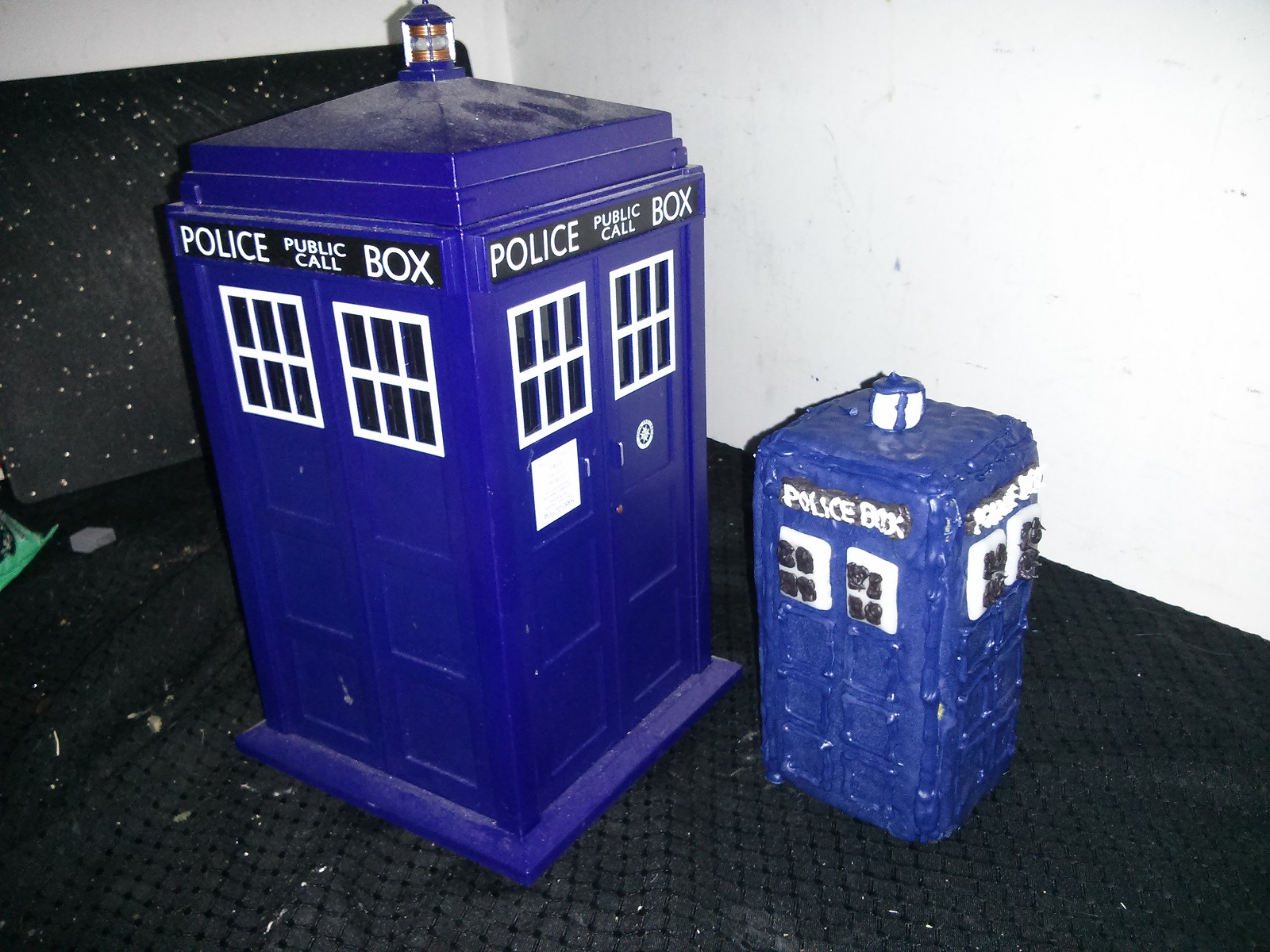 Big Tardis Gingerbread Tardis