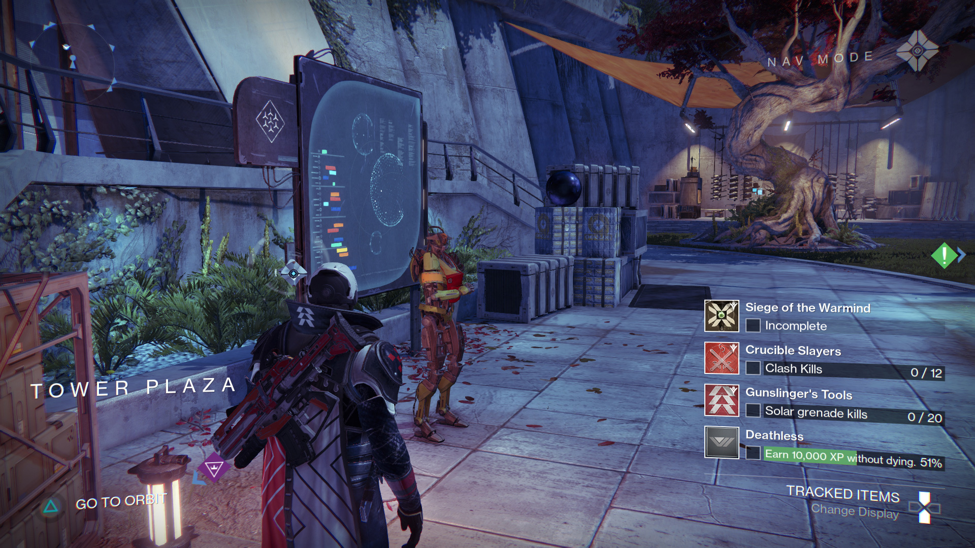 Destiny quest hud