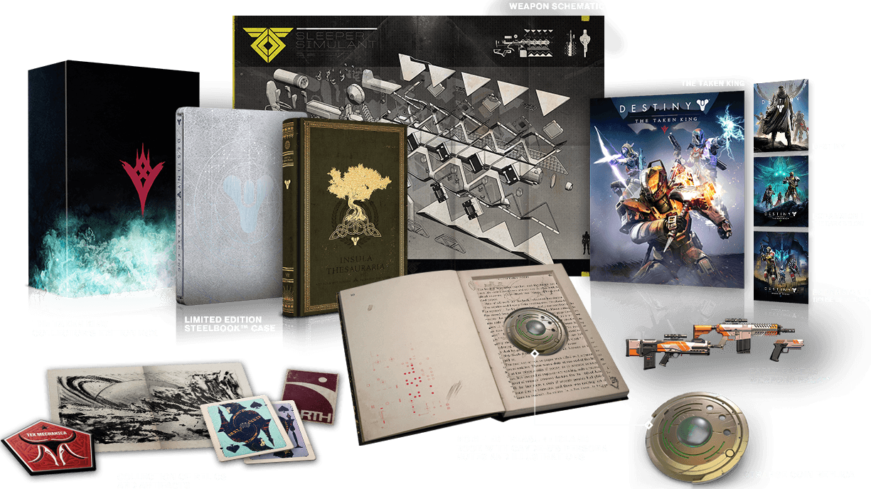 Taken King Collector's Edition